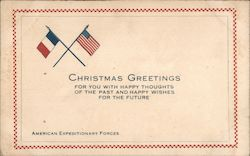 Christmas Greetings: American Expeditionary Forces