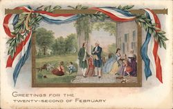 Greetings for the Twenty-Second of February