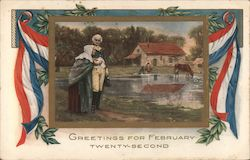 Greetings for February Twenty-second