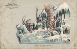 Float -- Frost King -- Hudson-Fulton Official Post Card No. 55