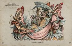 Float -- Fairies -- Hudson-Fulton Official Post Card No. 57