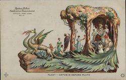 Float -- Orpheus Before Pluto -- Hudson-Fulton Official Post Card No. 61