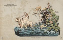 Float -- Europa -- Hudson-Fulton Official Post Card No. 63