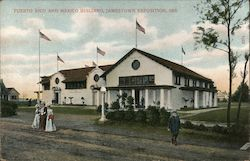 Puerto Rico and Mexico Building, Jamestown Exposition, 1907.