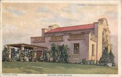 Montana State Building, Panama-California Exposition, San Diego, California