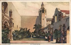 In a Quiet Patio, Panama-California Exposition, San Diego, California