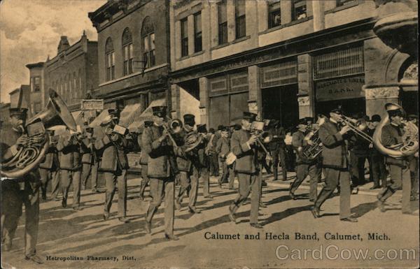 Calumet and Hecla Band Michigan