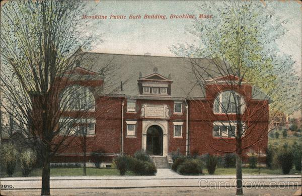 Brookline Public Bath Building Massachusetts
