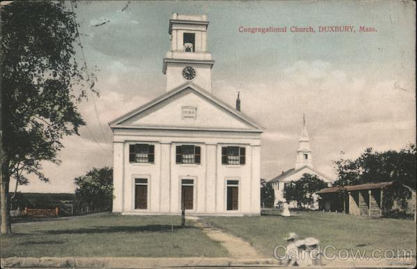Congregational Church Duxbury Massachusetts