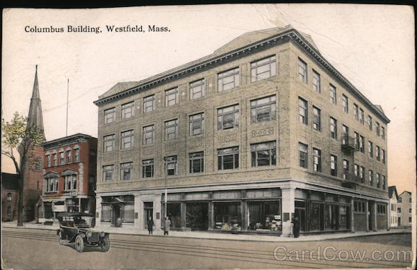 Columbus Building Westfield Massachusetts