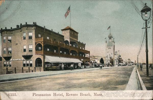 Pleasanton Hotel Revere Beach Massachusetts