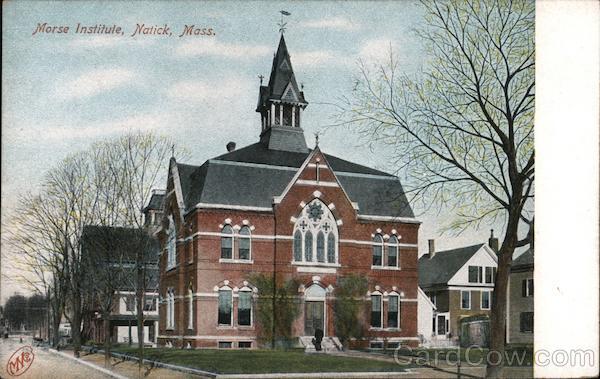 Morse Institute Natick Massachusetts