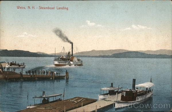 Steamboat Landing Weirs Beach New Hampshire