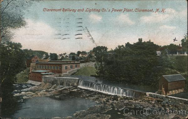 Claremont Railway and Lighting Co.'s Power Plant New Hampshire