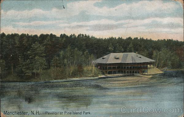 Pavillion at Pine Island Park Manchester New Hampshire