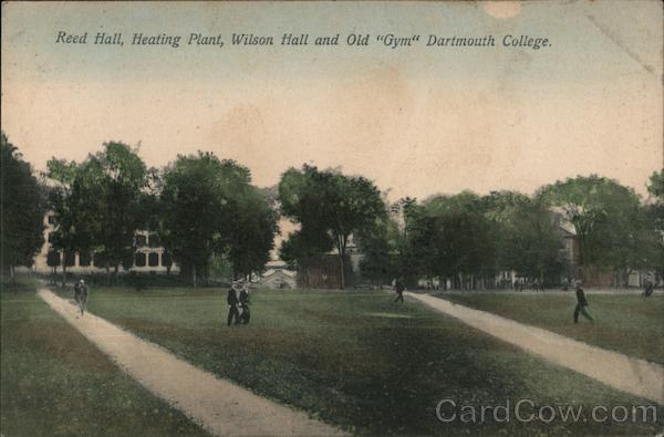 Reed Hall, Heating Plant, Wilson Hall and Old Gym, Dartmouth College Hanover New Hampshire