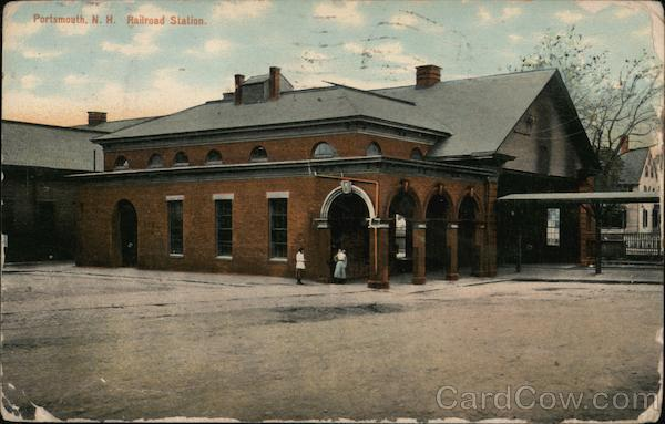 Railroad Station Portsmouth New Hampshire