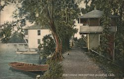 Boat House and Cottage