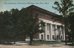 Hill Auditorium - University of Michigan