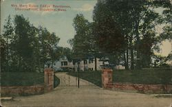 Mrs. Mary Baker Eddys' Residence, Chestnut Hill