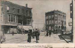 Chelsea Square and Savings Bank Ruins