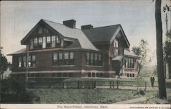 The Mann School Postcard