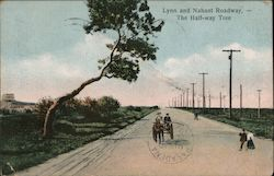Lynn and Nahant Roadway, - The Half-way Tree