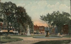 Taunton Green, General View Looking East Postcard