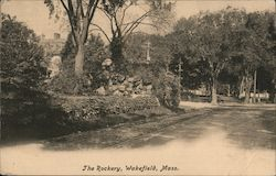 The Rockery Postcard