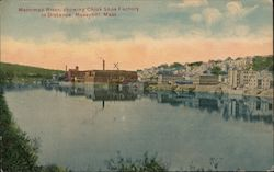 Merrimac River, showing Chick Shoe Factory in Distance
