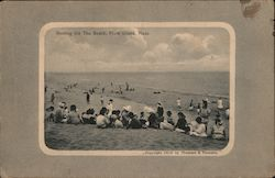 Resting on the Beach Postcard