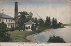 Pumping Station and Spot Pond, Middlesex Fells