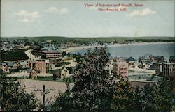 View of Revere and Beach from Beachmont Hill