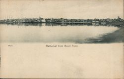 Nantucket from Brant Point Postcard