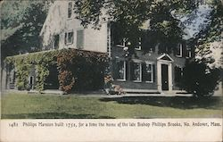 Phillips Mansion Built 1752