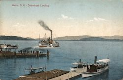Steamboat Landing Postcard