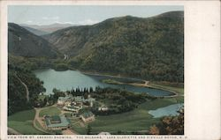 View From Mt. Abenaki Showing The Balsams, Lake Gloriette and Dixville Notch
