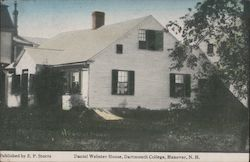 Daniel Webster House - Dartmouth College