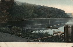 Penacook Lake West Concord, NH Postcard