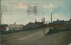 State Street RR Depot and Boat Landin