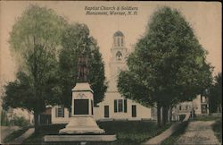 Baptist Church & Soldiers Monument