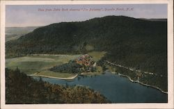 View From Table Rock Showing 'The Balsams'