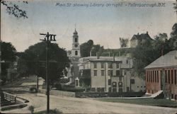 Main Street showing Library on Right