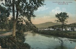 Gale River and Mt Lafayette Postcard