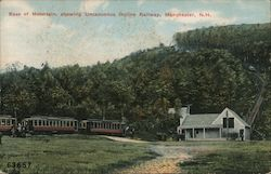 Base of Mountain - Showing Uncanoonuc Incline Railway