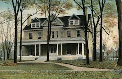 Sigma Phi Fraternity House, Union College Postcard