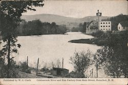 Contoocook River and Rim Factory From Main Street