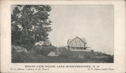 Broad View House Postcard