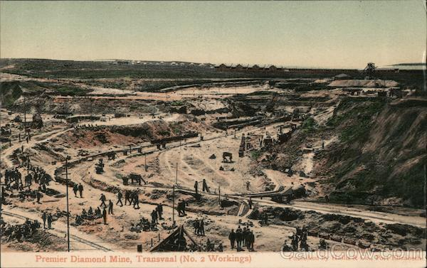 Premier Diamond Mine, Tansvaal (No. 2 Workings) Transvaal South Africa