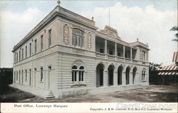 Post Office, Lourenco Marques Maputo Mozambique Africa